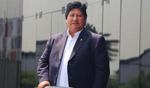 Edwin Oviedo: juez declara infundado cese de prisión preventiva en su contra