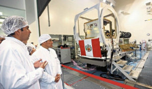 Detectan problema técnico en satélite adquirido en gobierno de Humala