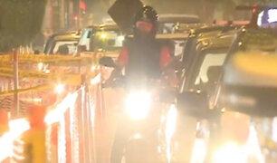 Fiestas de fin de año: Lima se convierte en un verdadero caos vehicular