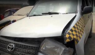SJL: vecinos piden mayor seguridad tras asesinato de taxista