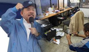 Nicaragua: denuncian golpe contra libertad de expresión por parte del presidente Ortega