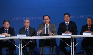 Gore Ejecutivo: Martín Vizcarra se reúne con gobernadores regionales electos