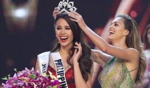 Representante de Filipinas se coronó como la nueva Miss Universo