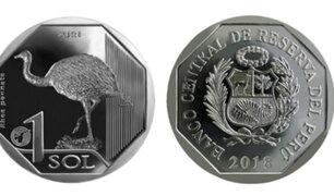 BCR pone en circulación nueva moneda de un sol alusiva al Suri