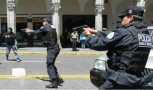Chiclayo: fiscales y jueces son capacitados en el uso de armas de fuego