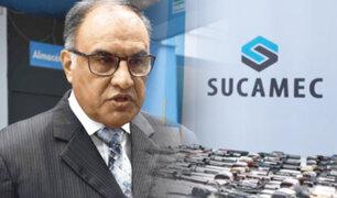 Jefe de Sucamec presenta renuncia irrevocable y hace grave denuncia
