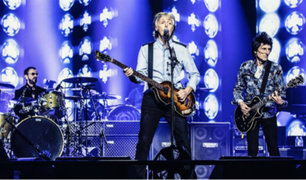 "Reino Unido: Paul McCartney, Ringo Starr y Ronnie Wood tocaron ""Get Back"""