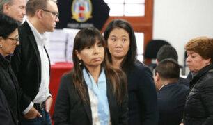 Fiscal Pérez solicitó comparecencia restringida contra abogada de Keiko Fujimori