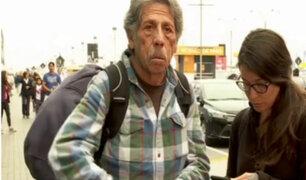 Padre de turista desaparecida arribó a Lima