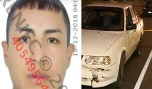 La Victoria: joven queda gravemente herido tras ser baleado por presuntos delincuentes