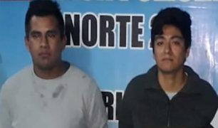 Carabayllo: capturan a presuntos integrantes de banda criminal dedicada al robo agravado