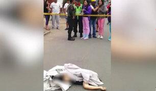 SJL: hallan cuerpo sin vida cerca a la estación Santa Rosa