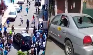 Rímac: vecinos exigen más control de las autoridades para las barras bravas
