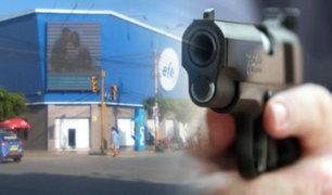 Chiclayo: asaltan tienda de electrodomésticos y se llevan más de 150 mil soles
