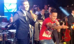 Christian Cueva se roba el show al bailar y cantar con Grupo 5