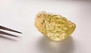 """El diamante """"más grande de Norteamérica"""" es calificado como invaluable"""