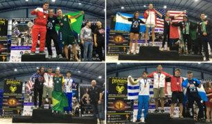 Delegación peruana de Muay Thai ganó cuatro medallas de oro en Panamericano IFMA