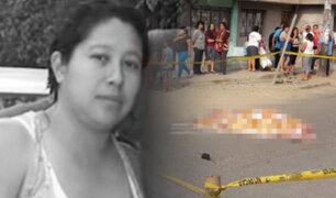 Identifican a mujer hallada muerta cerca de estación Santa Rosa en SJL