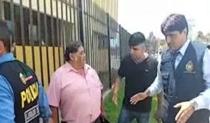 Chiclayo: detienen a profesor de universidad tras recibir una presunta coima