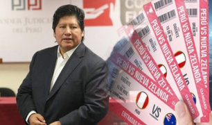 Audiencia contra Edwin Oviedo: lo acusan de entregar entradas por protección