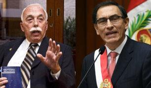 "Carlos Tubino descartó haber querido llamar ""dictador"" a presidente Vizcarra"