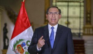 """Presidente Vizcarra partió esta mañana desde Brasil rumbo al Perú"", informa Cancillería"