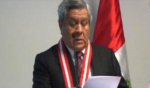 "Jefe de la OCMA solicitó ""apoyo"" al ex juez César Hinostroza"