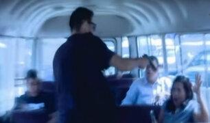 Surco: delincuentes armados asaltan a 20 pasajeros de cúster