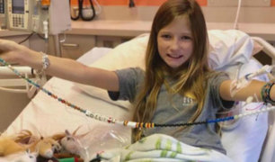 EEUU: tumor incurable desaparece de cerebro de niña