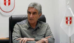 Oblitas realiza conferencia: Gareca es la persona idónea para sacar al equipo de este bache