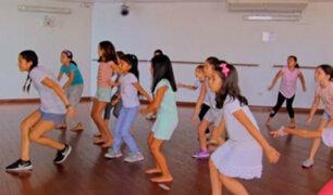 Clases de baile: una saludable alternativa para los niños en estas vacaciones