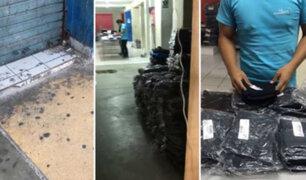 Chimbote: jóvenes trabajaban encerrados en almacén de ropa