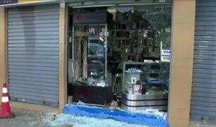 Lince: roban tienda de celulares bajo la modalidad del 'combazo'
