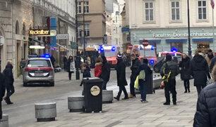 Austria: balacera en el centro de la capital deja un muerto