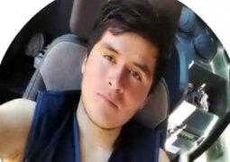 Bagua: maquinista murió aplastado por huaico