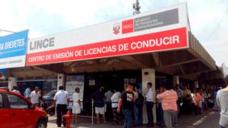 Brevetes: retiran autorización a 281 centros médicos y dejan habilitados 84 en todo el país