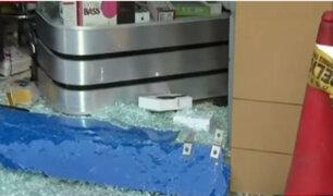 Incrementan robos a tiendas bajo la modalidad del 'combazo'