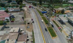 Juegos Panamericanos 2019: MML reabrió un tramo remodelado de la antigua Panamericana Sur