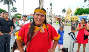 Mensajero inca llegó a Trujillo para recolectar juguetes destinados a niños de escasos recursos
