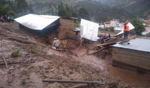 Cusco: caída de huaico arrasa con viviendas y destruye puentes