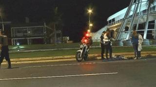 Costa Verde: sujeto muere atropellado por moto que hacía piques ilegales