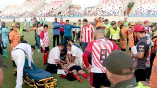 El ex jugador colombiano Gabriel Berdugo sufrió un infarto en pleno partido