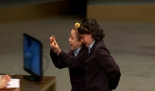 España: niña se conmueve al anunciar premio gordo de lotería
