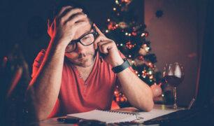 ¿Triste Navidad? Cómo sobrellevar la depresión de fin de año