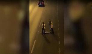 Panamericana Sur: hombre muere atropellado por no usar puente peatonal