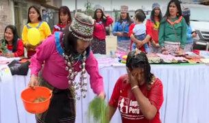 Rímac: comunidad shipibo-conibo ofrece novedosos regalos por Navidad