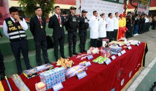 Más de 50 mil policías mantendrán el orden durante fiestas de fin de año