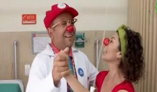 Hospital Almenara: conoce a los payasos humanitarios que curan con alegría y risas