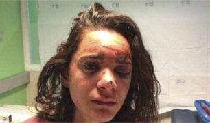 Dramático relato de turista estadounidense que fue golpeada y violada en España