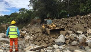 Cusco: huaico destruye puentes y arrasa viviendas en provincia de La Convención